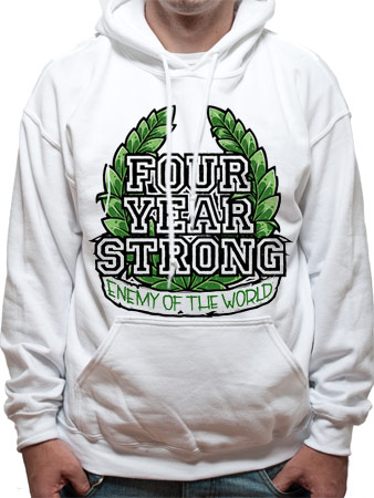 Four Year Strong (Enemy Of The World) Hoodie