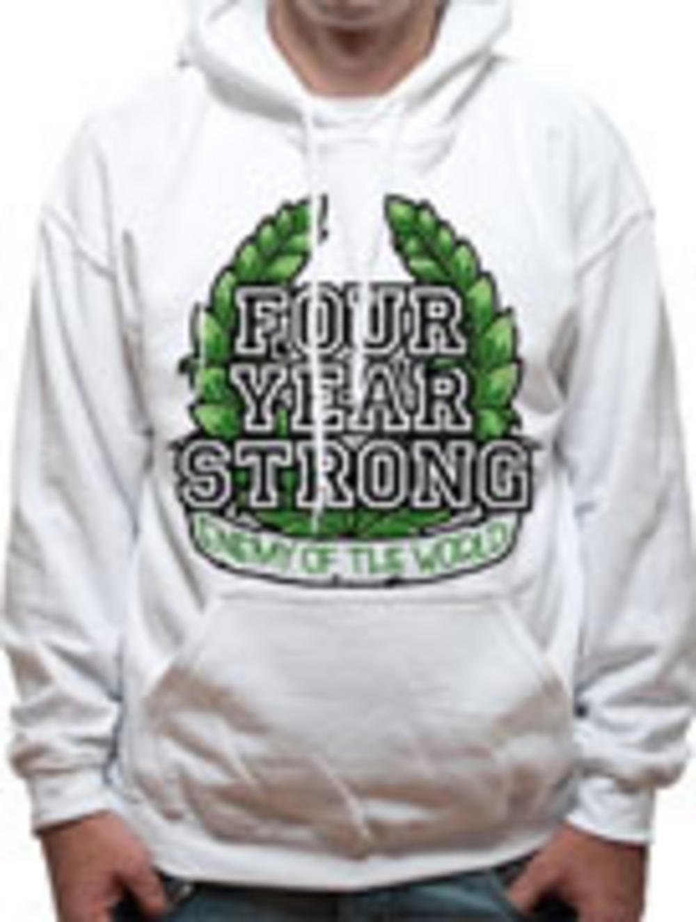 Four year strong hoodie