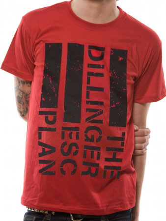 The Dillinger Escape Plan (Flag) T-shirt Preview