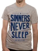 You Me At Six (Sinners Never Sleep) T-Shirt Thumbnail 2