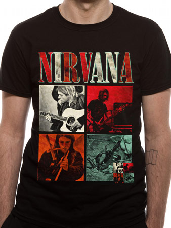 Nirvana (Four Squares) T-shirt