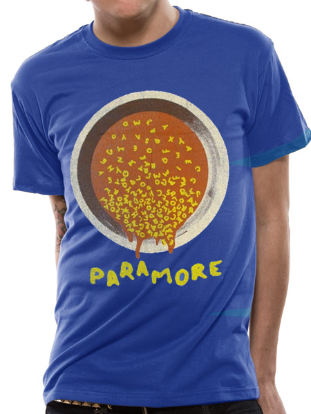 Paramore (ABC Soup) T-shirt Preview