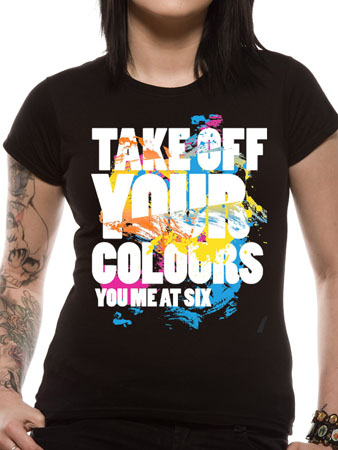 YOU ME AT SIX (Take Off Your Colours) T-shirt