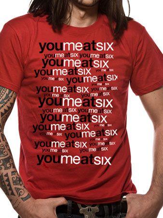 YOU ME AT SIX (Repeating Logo) T-shirt