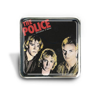 The Police (Outlandos) Album Pin Badge Preview