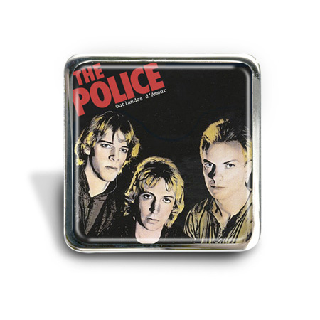 The Police (Outlandos) Album Pin Badge