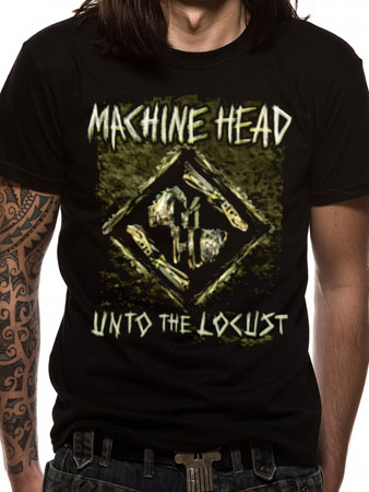 Machine Head (Unto The Locust) T-shirt Preview