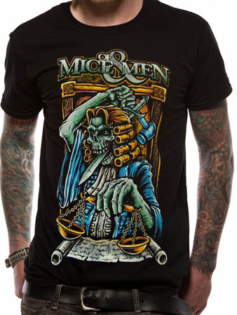 Of Mice And Men (Final Judgement) T-shirt