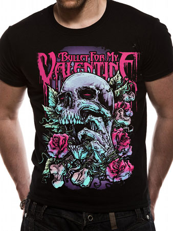 Bullet For My Valentine (Skull Red Eyes) T-shirt