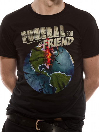 Funeral For A Friend (Globe) T-shirt Thumbnail 1