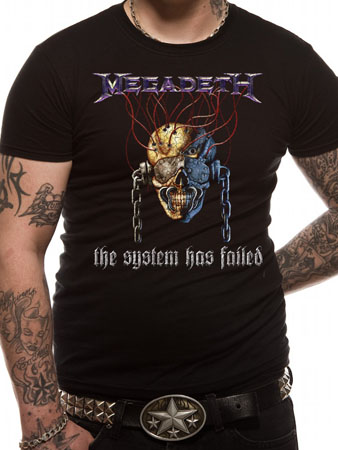 Megadeth (System) T-shirt