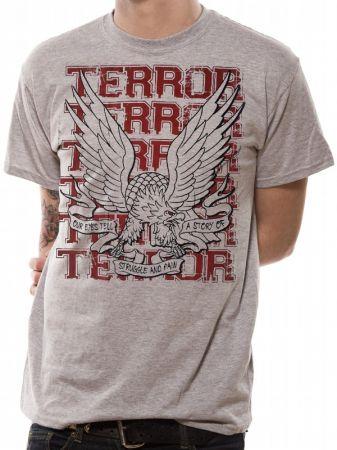 Terror (Struggle and Pain) T-shirt Thumbnail 1
