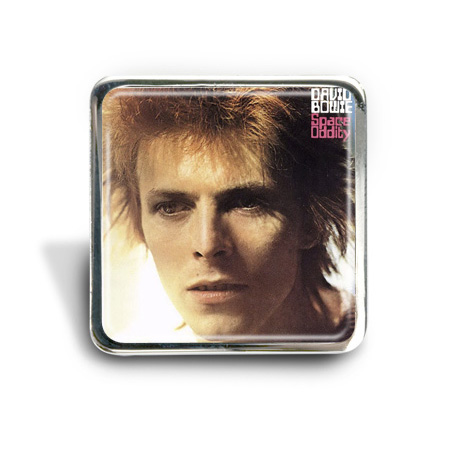 David Bowie (Space Oddity) Album Pin Badge