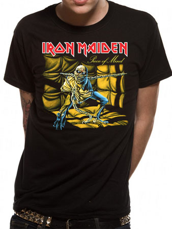 Iron Maiden (Piece Of Mind) T-shirt Preview