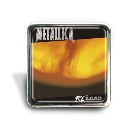 Metallica (Reload) Album Pin Badge