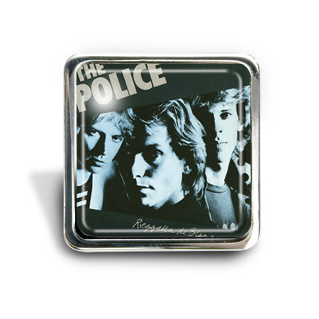 The Police (Regatta) Album Pin Badge