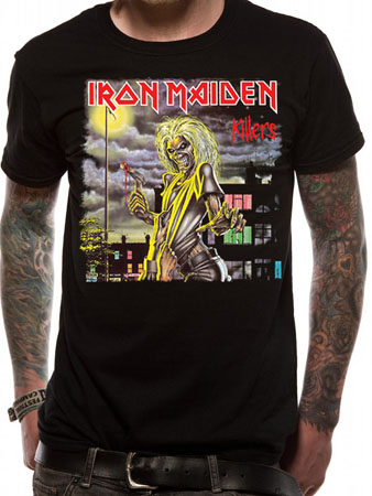 Iron Maiden (Killer Cover) T-shirt Thumbnail 1