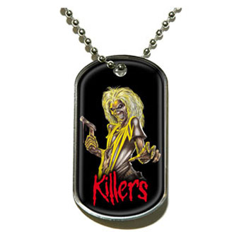 Iron Maiden (Killers) Dog Tags