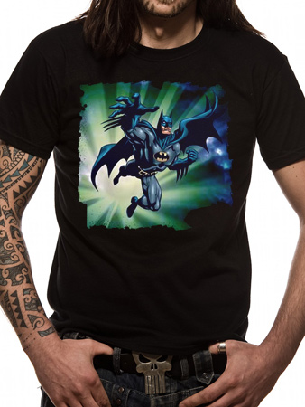 Batman (Distressed Jump) T-shirt