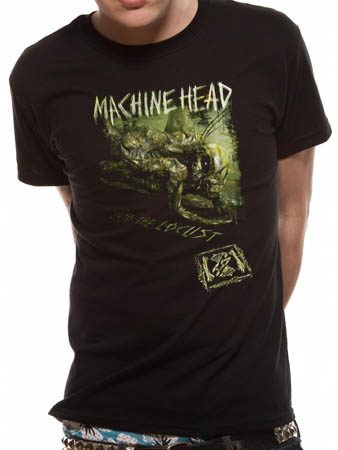 Machine Head (locust) T-shirt Preview