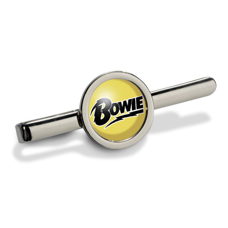 David Bowie (Logo) Tie Clip