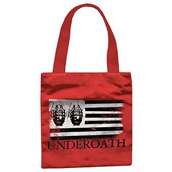 Underoath (Flag) Tote Bag Thumbnail 1