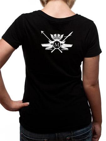 Mastodon (Leviathan Logo) T-shirt Thumbnail 2