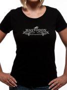 Mastodon (Leviathan Logo) T-shirt Thumbnail 3