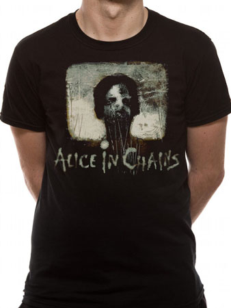 Alice In Chains (Stich Boy) T-shirt Thumbnail 1