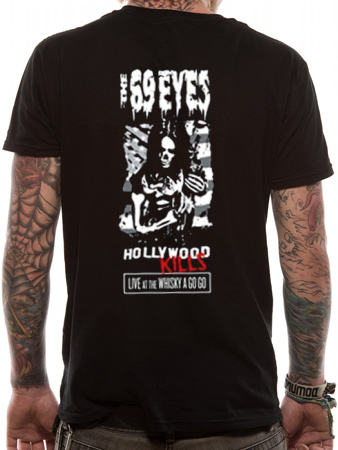 69 Eyes (Hollywood Kills ) T-shirt. Buy 69 Eyes (Hollywood Kills ) T ...: www.kerrangstore.com/69-eyes-hollywood-kills-t-shirt.html