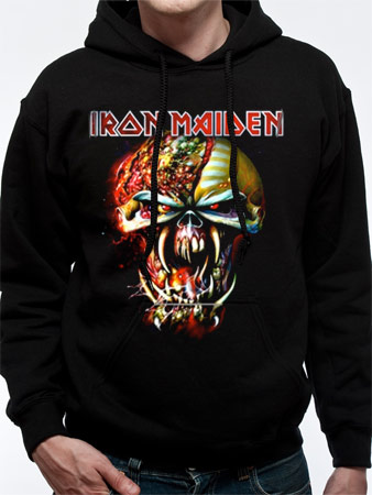 Iron Maiden (Big Head) Hoodie