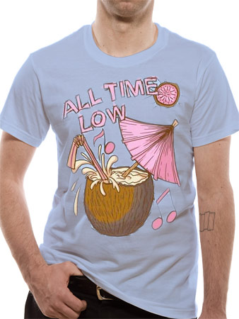 All Time Low (Coconut) T-shirt Preview