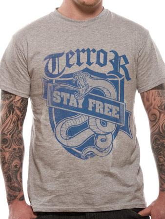 Terror (Stay Free) T-shirt