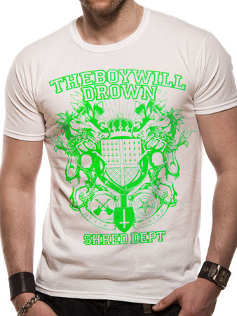 The Boy Will Drown (Shred Dept) T-shirt