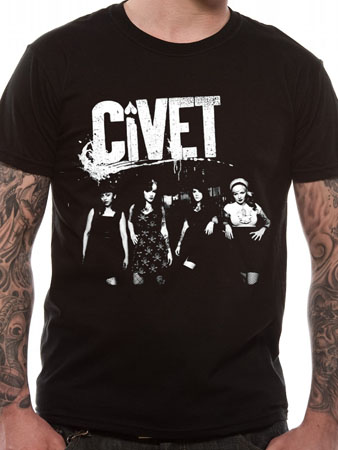 Civet (Band Photo) T-shirt Thumbnail 1