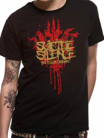 Suicide Silence (Black Crown Logo) T-shirt Thumbnail 1