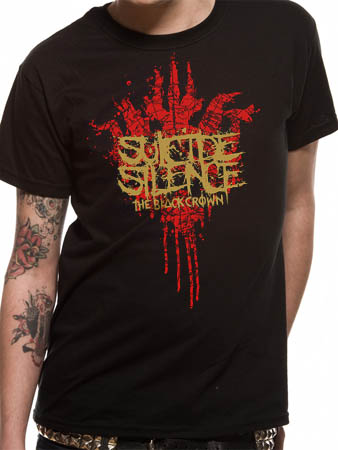 Suicide Silence (Black Crown Logo) T-shirt Thumbnail 1