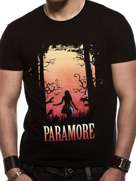 Paramore (Dark Woods) T-shirt Thumbnail 1