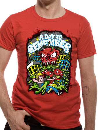 A Day To Remember (Killer Tomato) T-shirt Preview