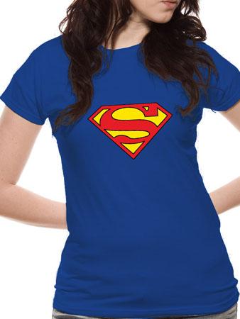 Superman (Logo) T-shirt Thumbnail 1