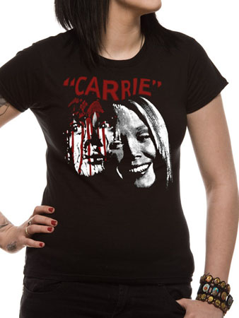 Carrie (Faces) T-shirt