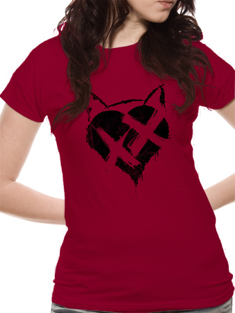 Batman Dark Knight Rises (Catwoman Heart XX) T-shirt