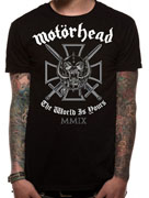 Motorhead (Iron Cross) T-shirt Thumbnail 2
