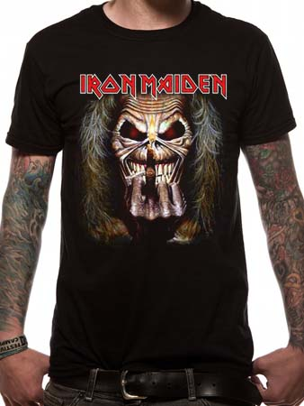 Iron Maiden (Candle Finger) T-shirt