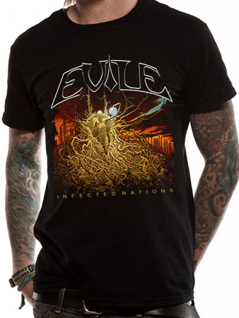 Evile (Infected Nations) T-shirt