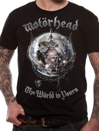 Motorhead (The World Is Yours) T-shirt Thumbnail 1