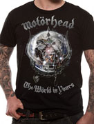 Motorhead (The World Is Yours) T-shirt Thumbnail 2