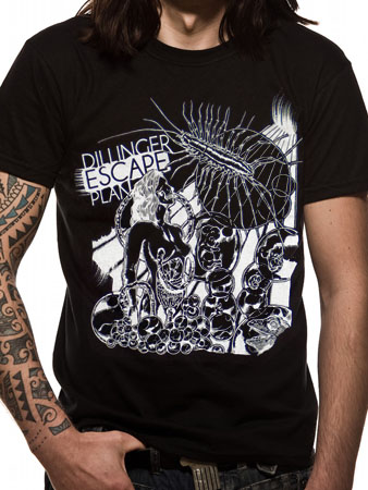 The Dillinger Escape Plan (Bug) T-shirt