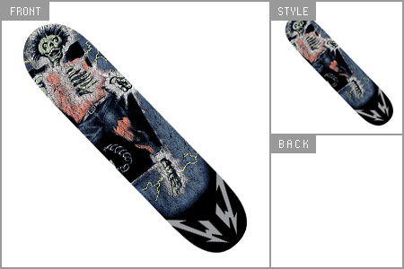 Metallica (Ride The Lighting) Skate Deck