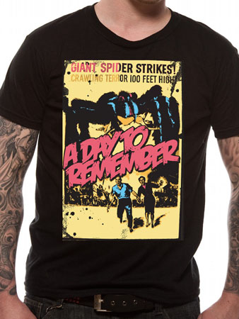 A Day To Remember  (Giant Spider) T-shirt Thumbnail 1